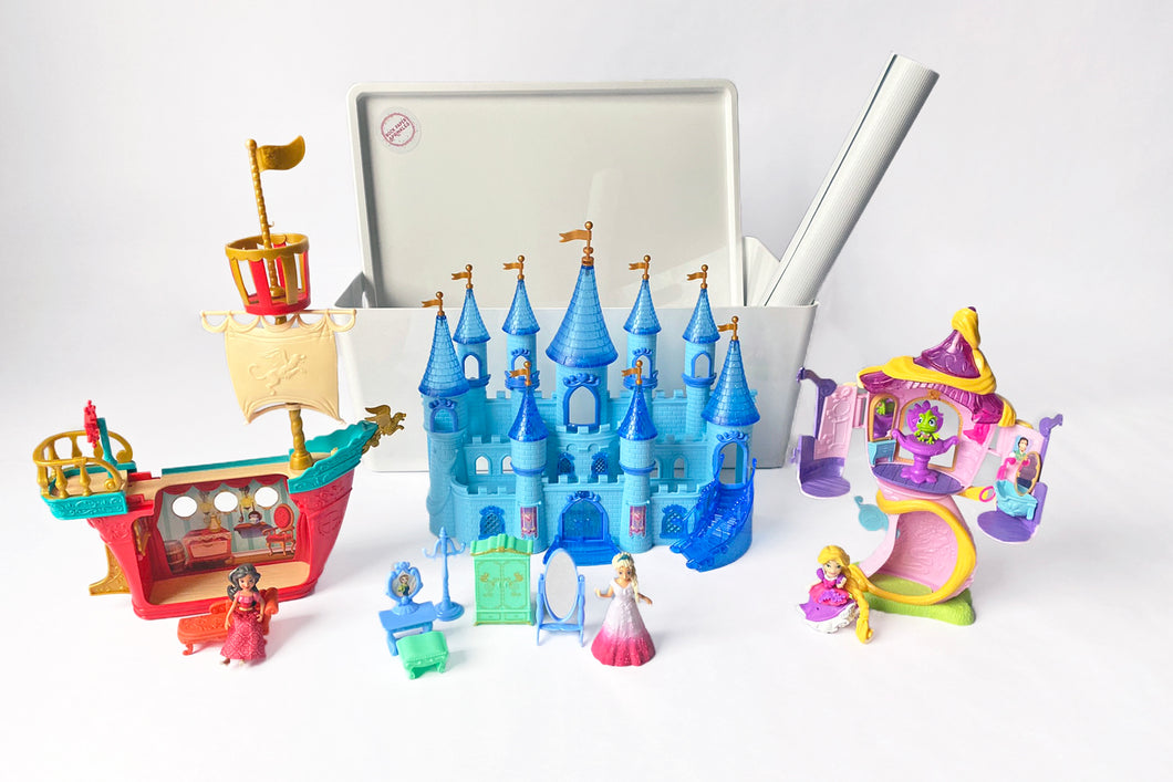 Princess Castle Frozen Elena Rapunzel Toys Playset
