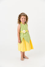 Load image into Gallery viewer, Green and yellow Princess and the Frog costume