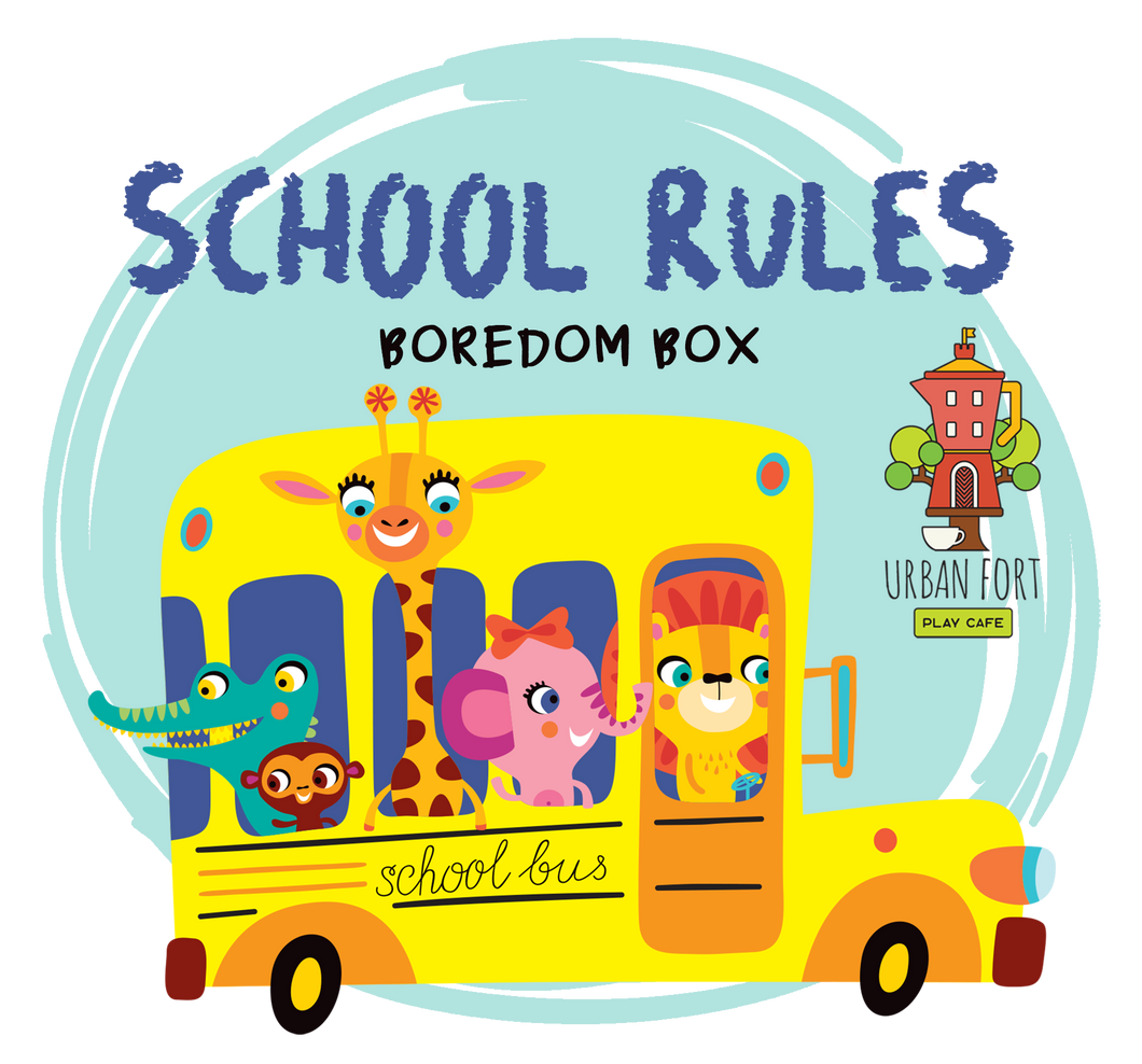 Urban Fort + Rock Paper Sprinkles | Boredom Box: School Rules