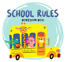 Load image into Gallery viewer, Boredom Box: School Rules