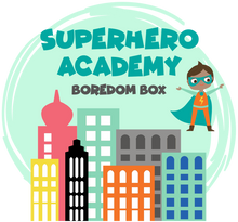 Load image into Gallery viewer, Boredom Box: Superhero Academy