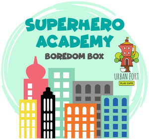 Urban Fort + Rock Paper Sprinkles | Boredom Box: Superhero Academy