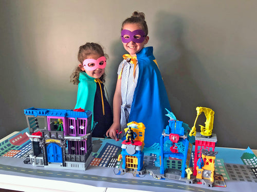 Superhero Metropolis Playscape
