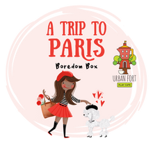 Load image into Gallery viewer, Urban Fort + Rock Paper Sprinkles | Boredom Box: A Trip to Paris