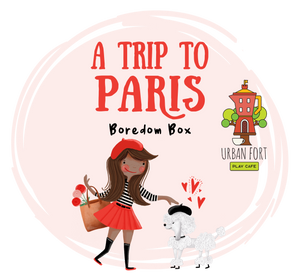 Urban Fort + Rock Paper Sprinkles | Boredom Box: A Trip to Paris