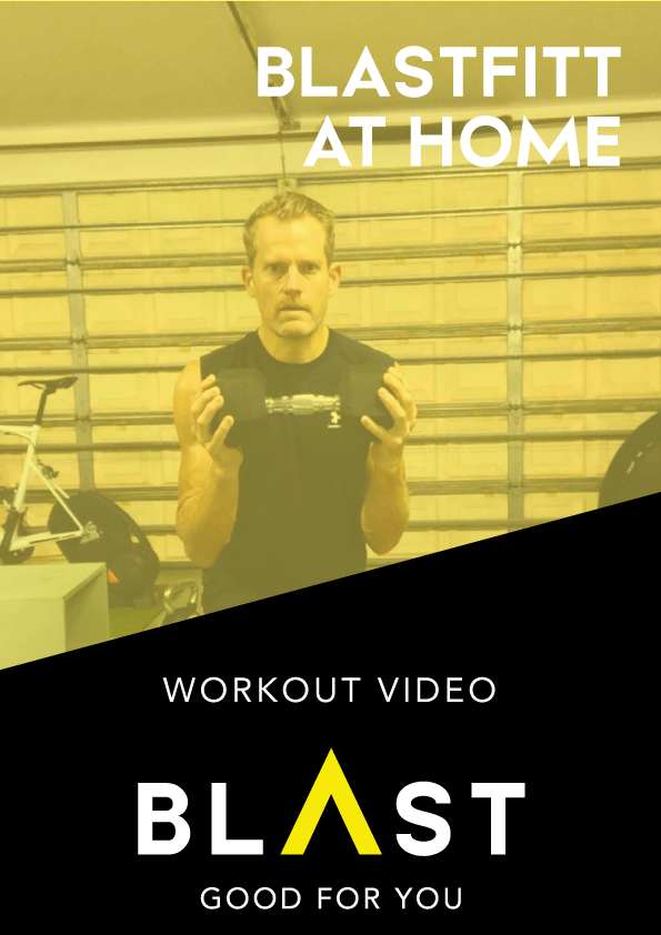 BLASTFITT | Isometric Push Pull & Core Workout