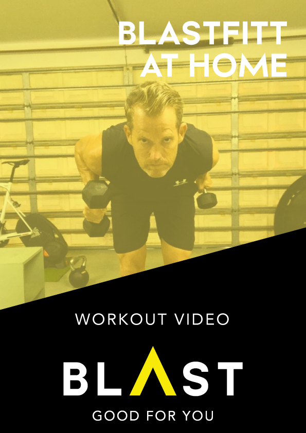 BLASTFITT | Leg Stretch & Plyometrics Workout