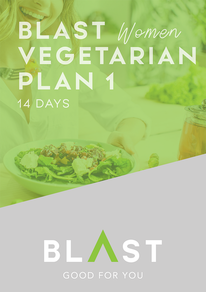 Women's 6-Week Vegetarian | Standard Eating & Training Plan