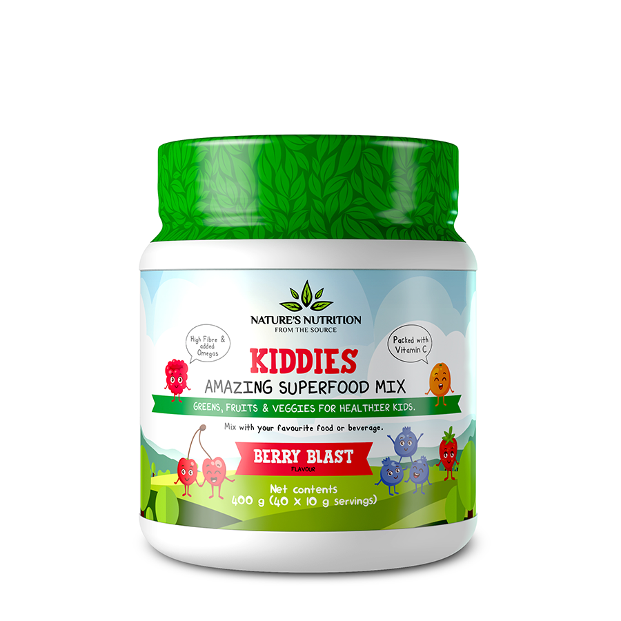Kiddies Superfoods Drink Mix Berry Blast