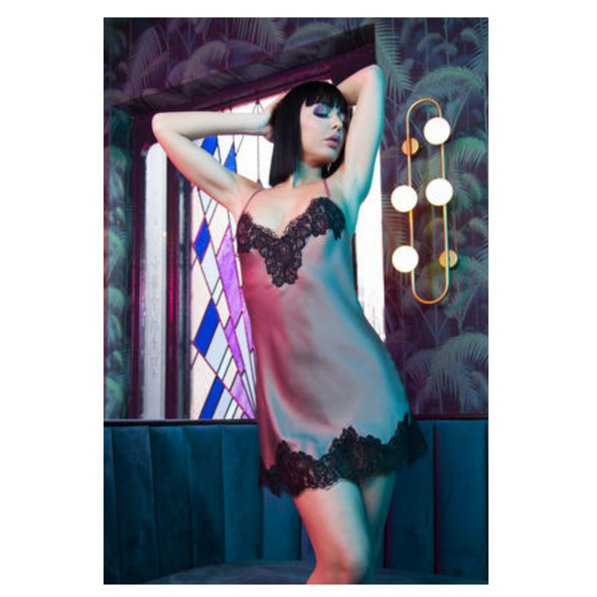 New Satin Negligee by Playful Promises