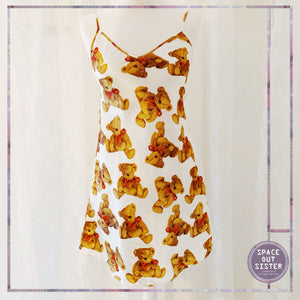 Teddy Bear Slip Dress