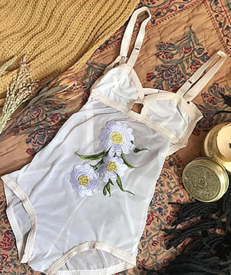 'Petal' Limited Edition Bodysuit by Solstice Intimates