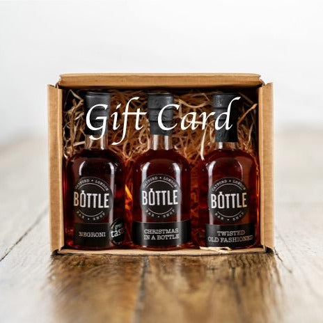 Bottle Bar and Shop gift card