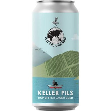Lost And Grounded/ Keller Pils / Lager / 44cl