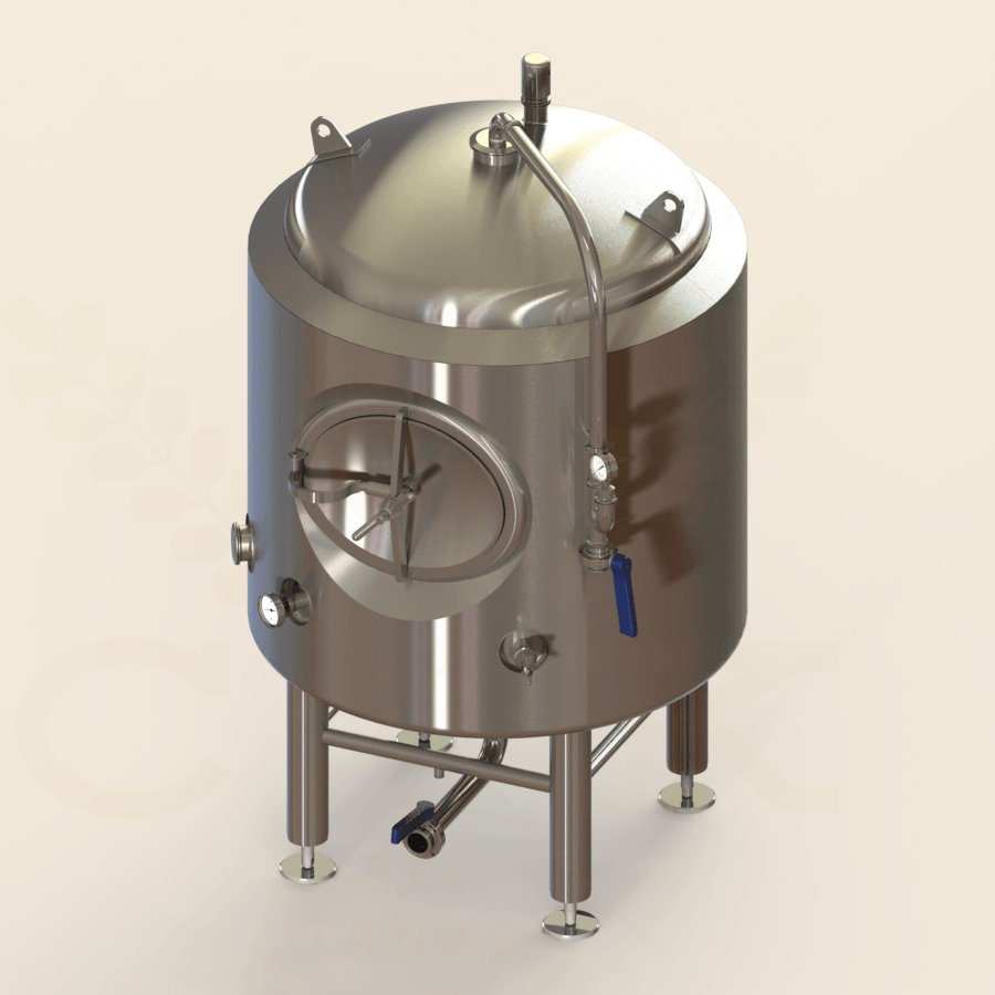 5 BBL | Brite/Serving Tank | Jacketed & Insulated