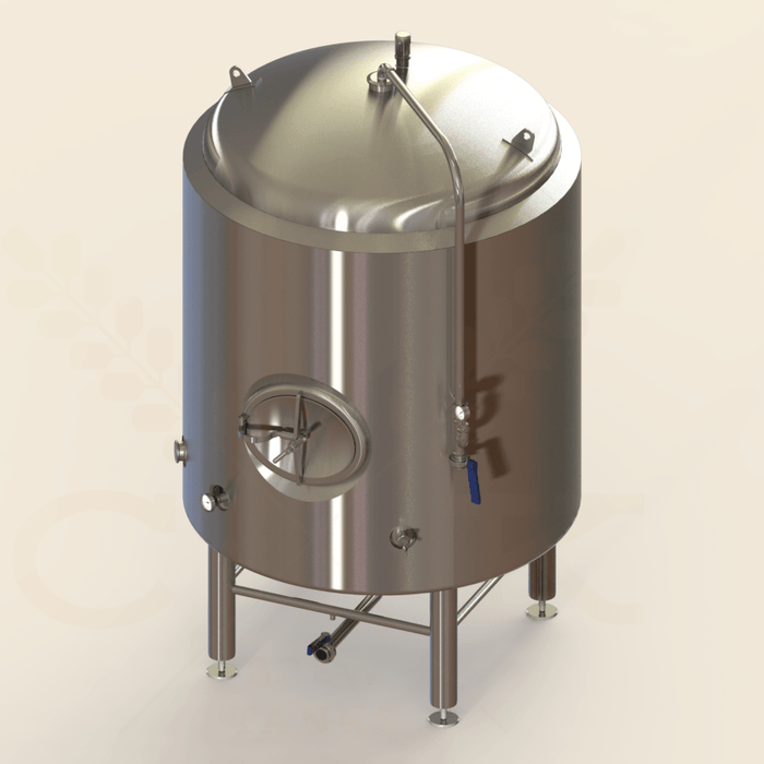 20 BBL | Brite/Serving Tank | Jacketed & Insulated