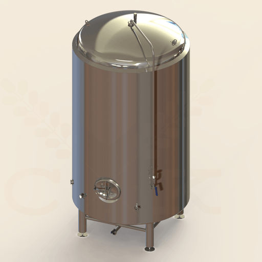 90 BBL | Brite/Serving Tank | Jacketed & Insulated