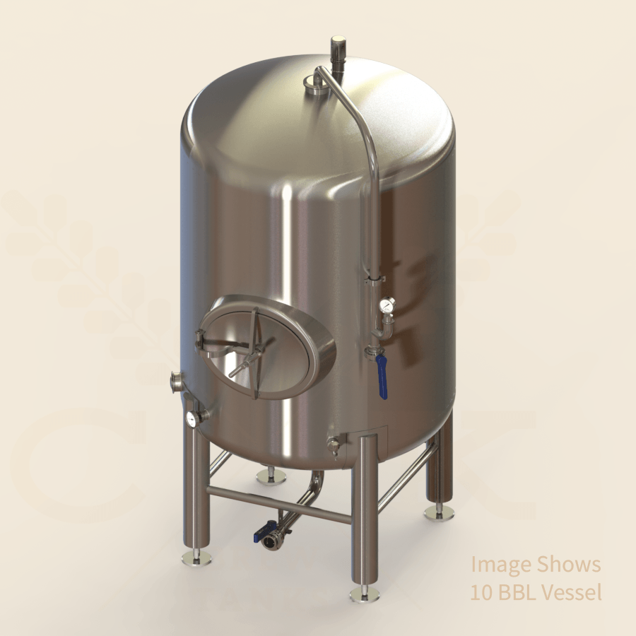 1 BBL | Brite/Serving Tank | Single Wall