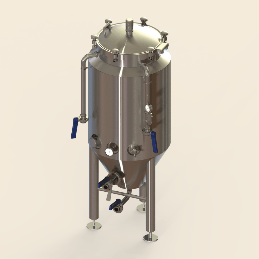 2 BBL | Uni-tank Fermenter | Jacketed & Insulated