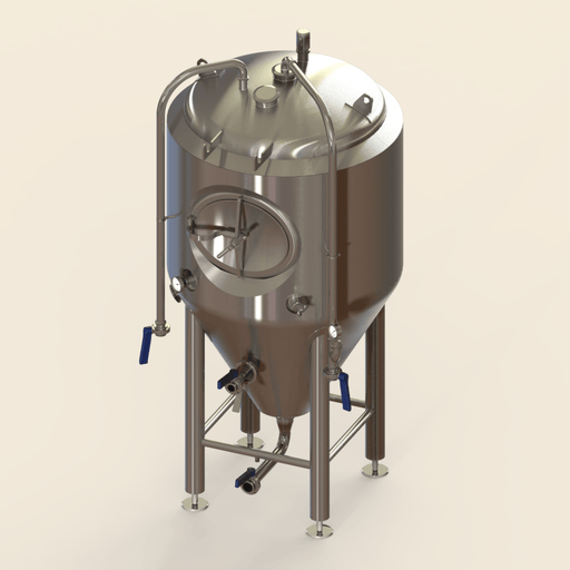 5 BBL | Uni-tank Fermenter | Jacketed & Insulated