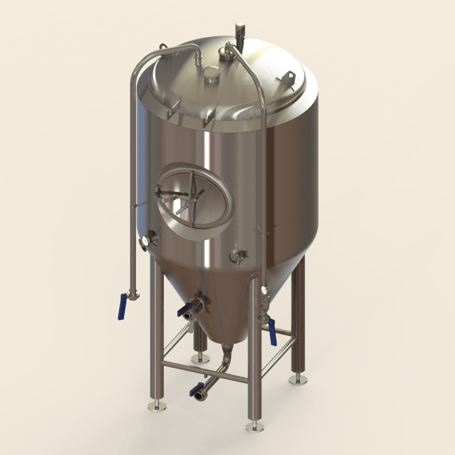 7 BBL | Uni-tank Fermenter | Jacketed & Insulated