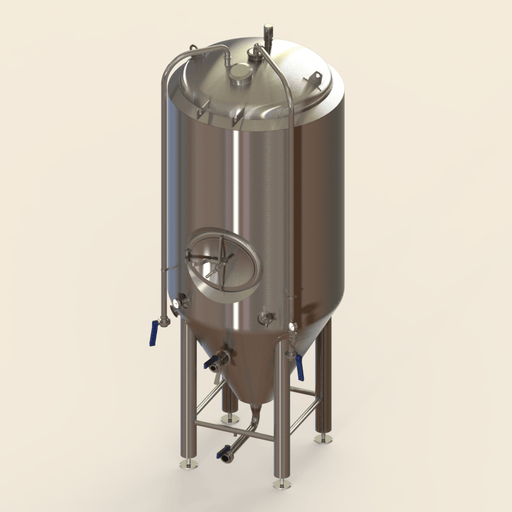 10 BBL | Uni-tank Fermenter | Jacketed & Insulated