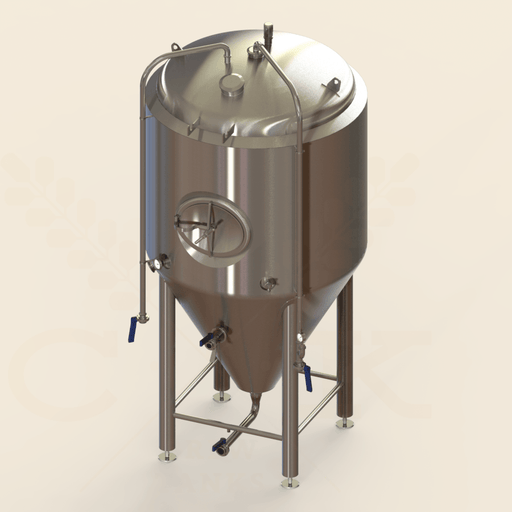 15 BBL | Uni-tank Fermenter | Jacketed & Insulated