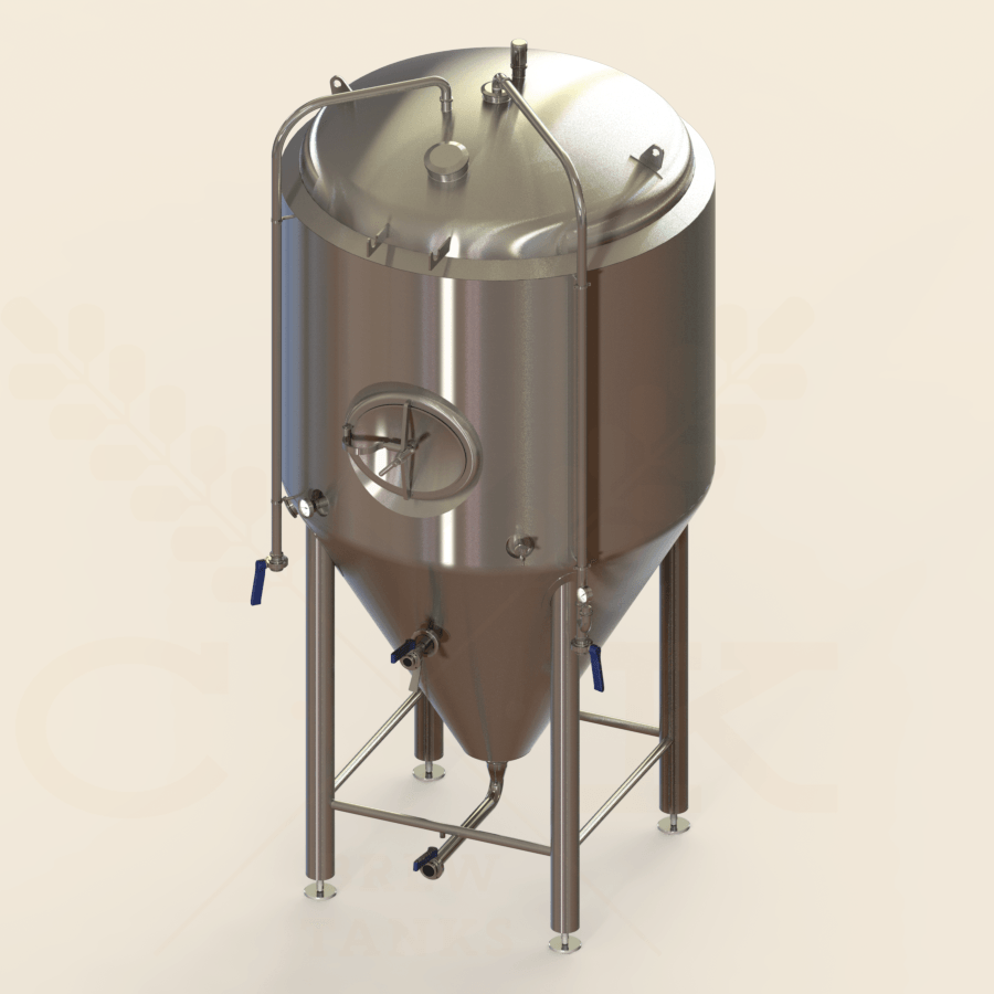 20 BBL | Uni-tank Fermenter | Jacketed & Insulated