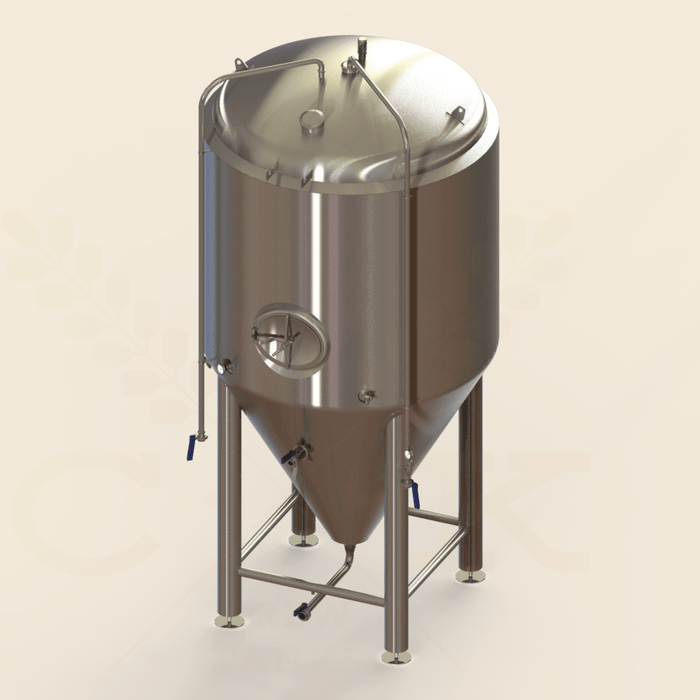 40 BBL | Uni-tank Fermenter | Jacketed & Insulated