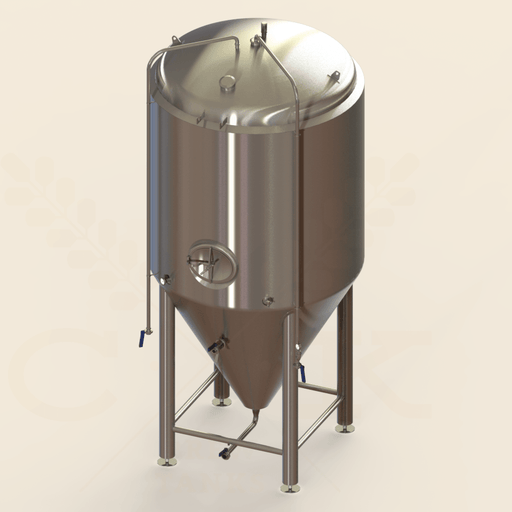 60 BBL | Uni-tank Fermenter | Jacketed & Insulated