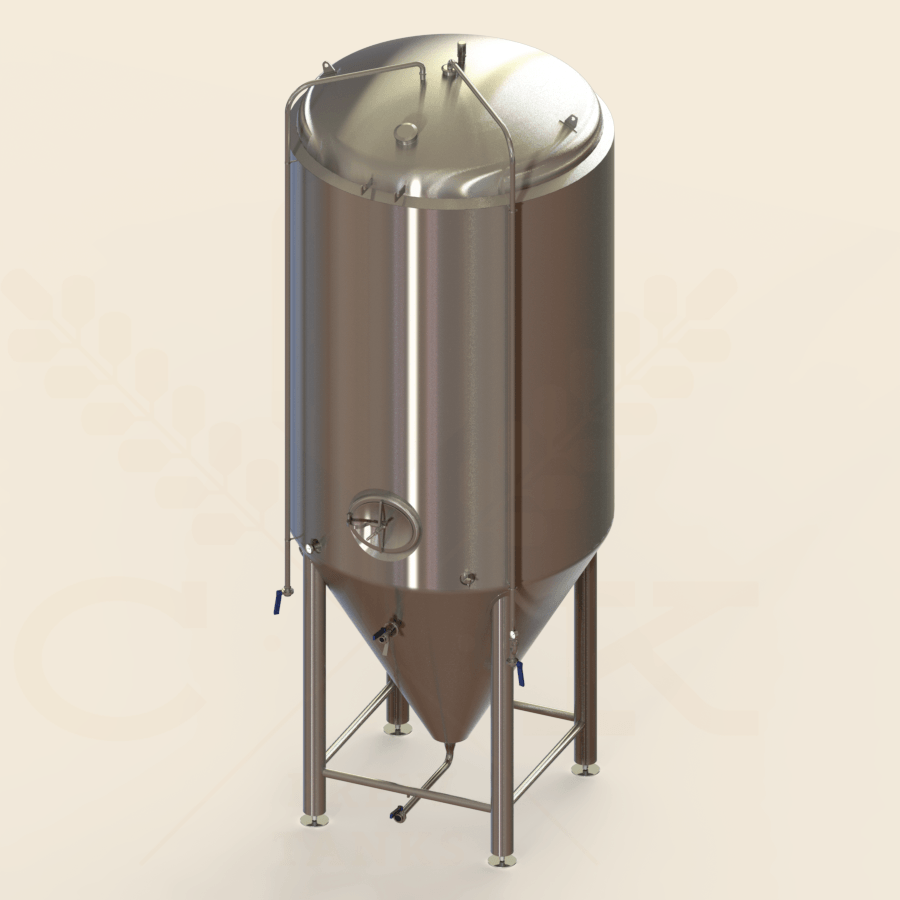 100 BBL | Uni-tank Fermenter | Jacketed & Insulated