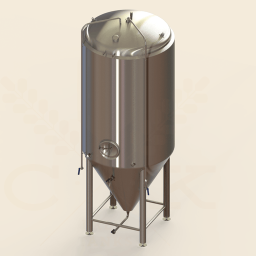 90 BBL | Uni-tank Fermenter | Jacketed & Insulated
