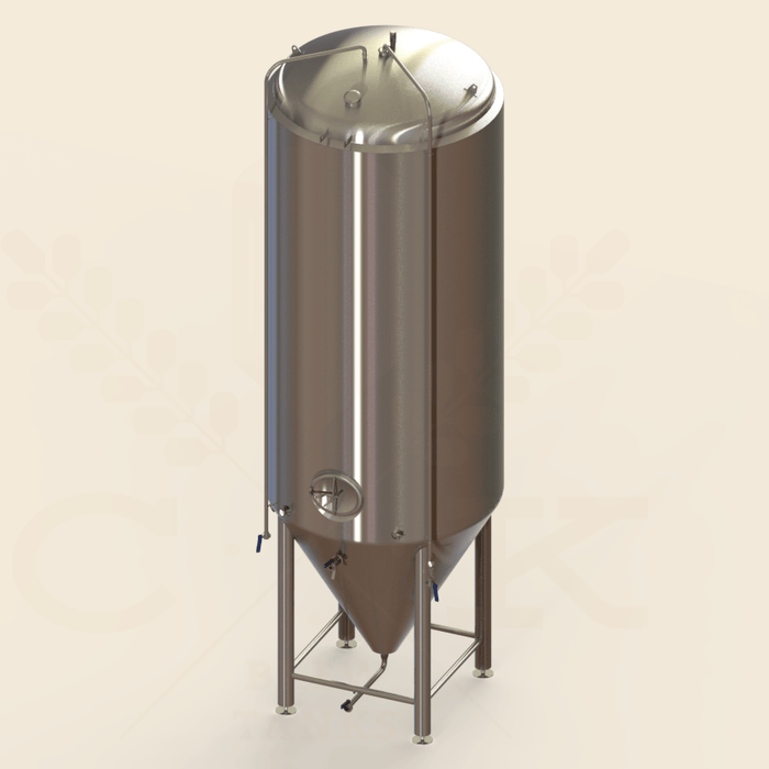 120 BBL | Uni-tank Fermenter | Jacketed & Insulated