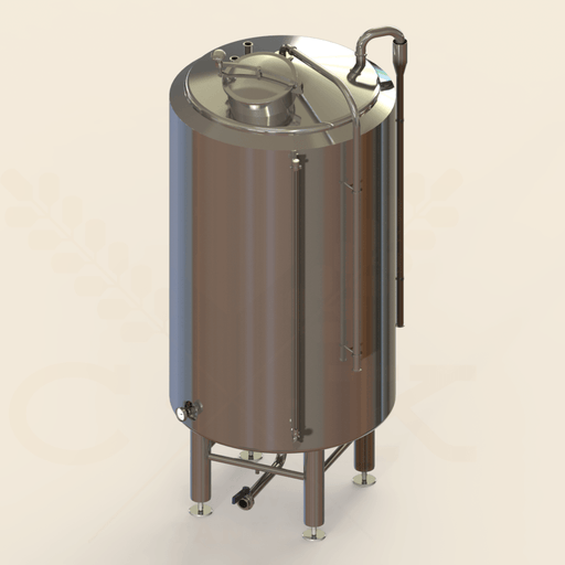 100 BBL | Hot Liquor Tank | Steam Jacketed