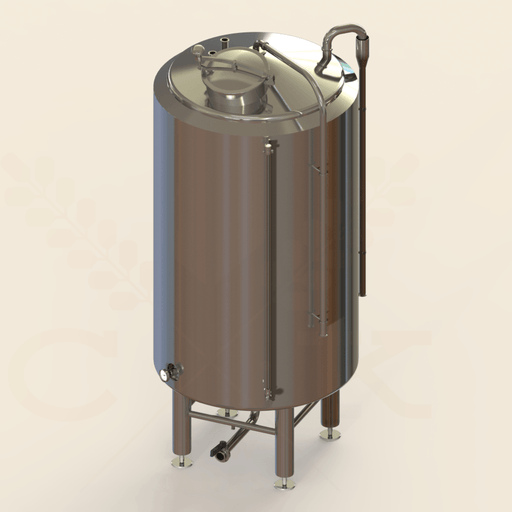 240 BBL | Hot Liquor Tank | Steam Jacketed