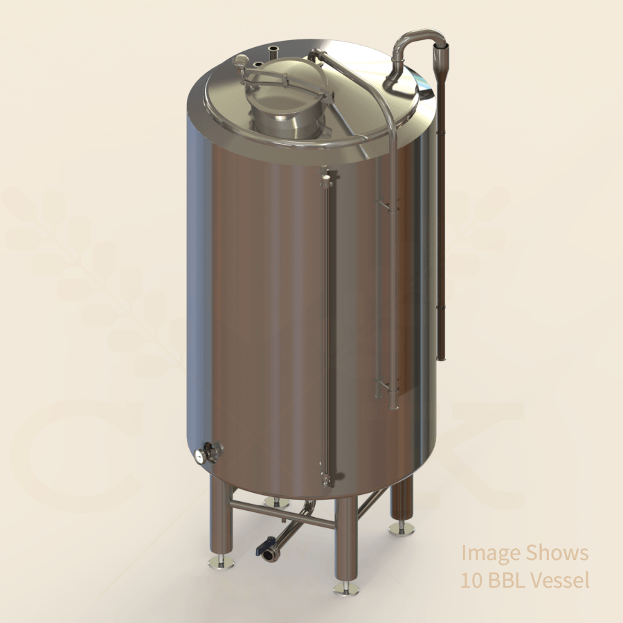 15 BBL | Cold Liquor Tank | Jacketed & Insulated