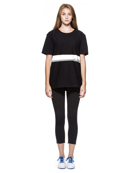 LY SEVEN Insignificant Signature Tee Black