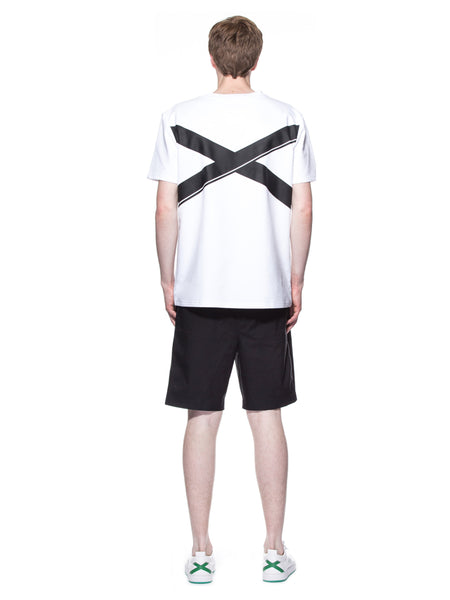 LY SEVEN Insignificant Signature Tee White