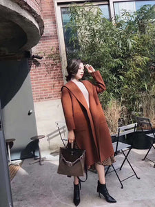Coco Hooded Wool Coat