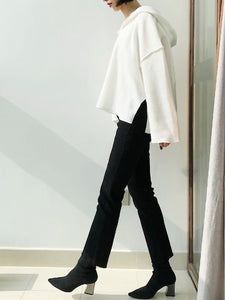 Candace Fleeced Lined Flare Pants