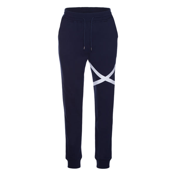 LY SEVEN Solo Key Sweatpants Navy Blue