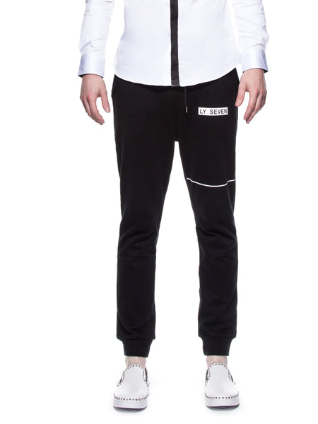 LY SEVEN Secret Skyline Pants Black