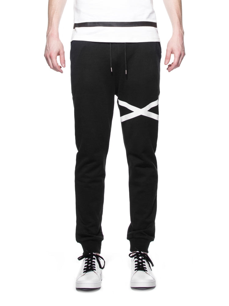 LY SEVEN Solo Key Sweatpants Black