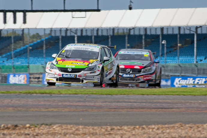 Encouraging weekend at Silverstone for PMR & Jade Edwards