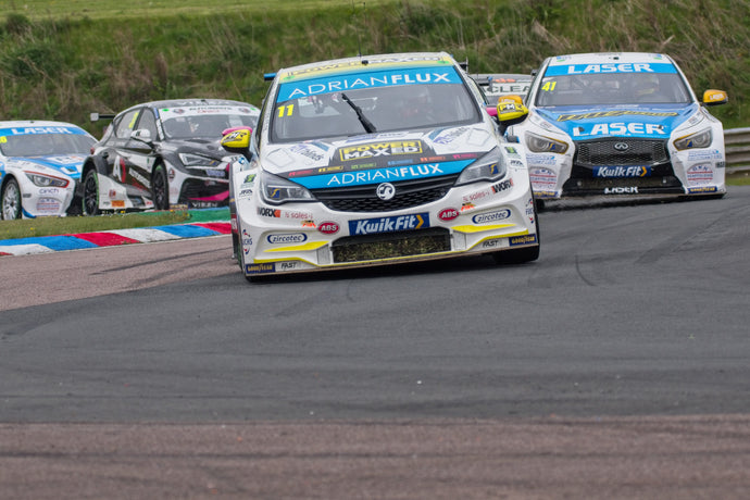 Successful Start for Adrian Flux with Power Maxed Racing at Thruxton