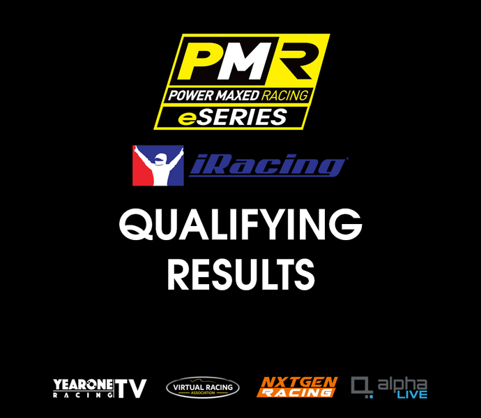 PMR eSeries Qualifying Results