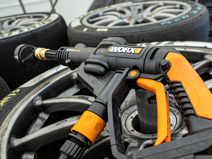 Worx Hydroshot and Power Maxed Racing Partner to Form Unbeatable Cleaning Solution