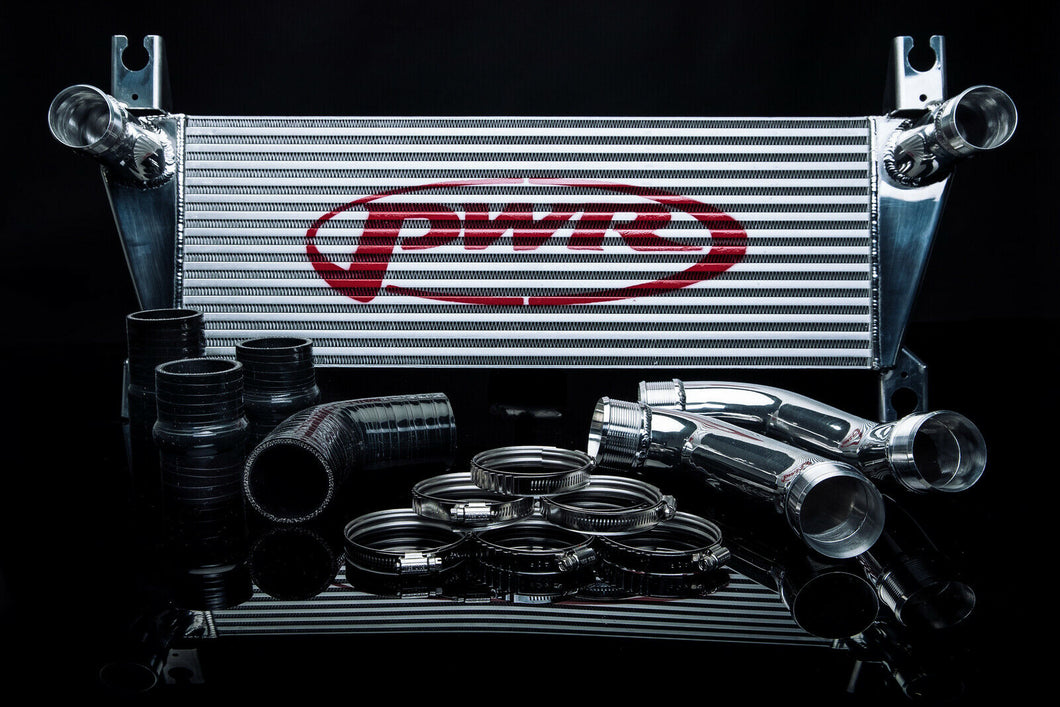 PWR Ford Ranger T6 3.2 Uprated Front Mount Intercooler (FMIC) Full Kit inc. Pipework