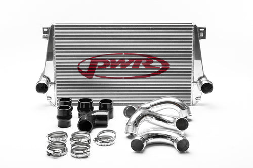 PWR VW Amarok 2.0TDI 2012-2018 Uprated Front Mount Intercooler (FMIC) Full Kit inc. Pipework