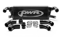 Load image into Gallery viewer, PWR Mitsubishi L200 2015- Uprated Front Mount Intercooler (FMIC) Black Full Kit inc. Pipework